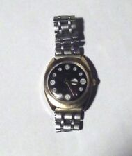 VINTAGE TIMEX TELEPHONE DIAL WIND UP WATCH MENS WITH DAY & DATE DISPLAY WORKING