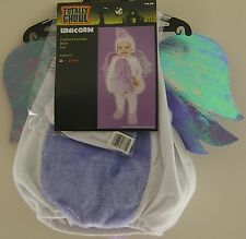 Unicorn Halloween Costume Toddler Boy Girl Iridescent Fleece Horse NO HAT 1 to 2