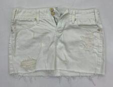 Vigoss Studio The Ritz White Denim Mini Skirt Size 27 EUC