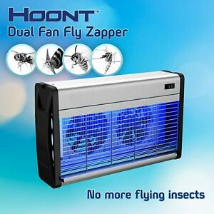 Hoont Electronic Indoor Bug Zapper w/ UV Light and Dual Fans– Covers 4,000 Sq Ft