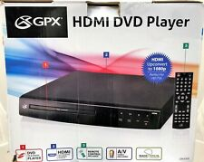 Used - Working Lot of 6 - Gpx Dh300B 1080P Dvd Players - No Cables Or Remotes