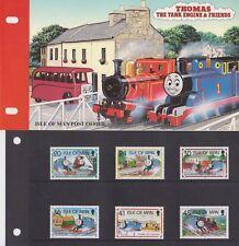 Isle of Man Presentation Pack 1995 Thomas the Tank Engine Stamp Set 10% off 5+