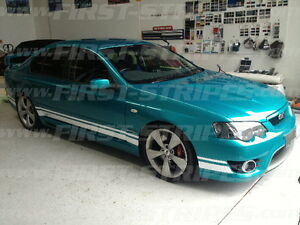 """2006 / 7 FORD BF Mk2 FALCON """" GT STRIPE KIT """" XR6 XR8 Also Suits BA"""