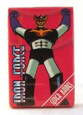 1993 Ediciones Super Naipes – IRON FORCE (MAZINGER Z ALIKE) – Spanish FULL deck