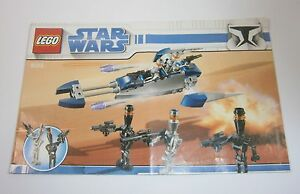 8015 LEGO Star Wars Assassin Droid Battle Pack 100% complete with instructions