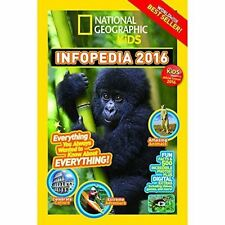 National Geographic Kids Infopedia 2016,National Geographic Kids,New Book mon000