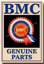 BRITISH MOTOR CORPORATION GENUINE PARTS METAL SIGN.VINTAGE BRITISH CARS