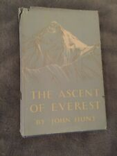 THE ASCENT OF EVEREST by John Hunt- 1953- 1st Edition-Hardback with Dustcover