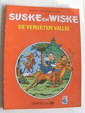 Speciale Suske en Wiske De vergeten vallei Ariel 1981 !!