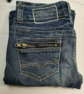 "Guess Jeans - Daredevil Bootcut - Blue - 28"" Waist"