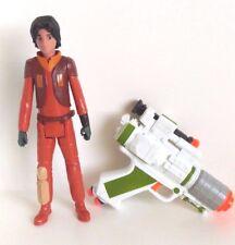 "Star Wars Rebels Ezra Titan 12"" Figure And Nerf General Grievous Blaster Set"