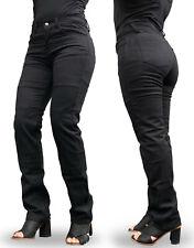 New Ladies 2020 Black comfort stretch Denim Kevlar® Lined Motorcycle Jeans