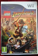 LEGO INDIANA JONES 2 L'aventure continue Nintendo WII PAL FRANCAIS ++ 100% NEUF