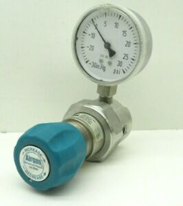 Airgas E11-C441A Single Stage Gas Regulator 1250PSIG 0-30PSI Max Outlet