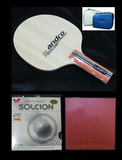 RA-AND-053 :Andro Fibercomp Def Table Tennis Racket # 3 + Free Racket Case