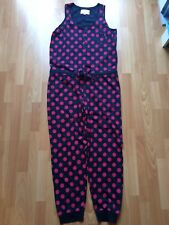 NEXT Spotty Sleeveless All in One - Size Large