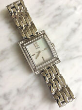 GUESS G96054L Women Watch Crystal Stainless Steel Pearlescent face classic