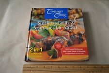 Company's Coming Sizzling Grills & Spectacular Salads 2 in 1 Cookbook