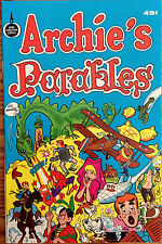 Archie's Parables comicbook (1975) 49 cents - Near Mint! Spire Christian Comics.