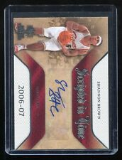 2007-08 SP Rookie Threads Scripted In Time Autograph #SIT-SB Shannon Brown Auto