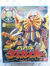 Power Ranger Samurai Sentai Shinkenger DX Daikaioh Ebi Origami Megazord Figure