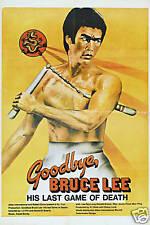 Good bye Bruce Lee vintage movie poster #1