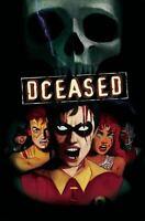 DCeased #4 Horror Variant Final Destination Homage DC Comic 1st Print 2019 NM