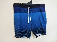 Target Men's Board Shorts Size 40 Blue Stripe Swim