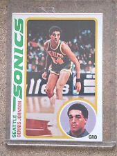 DENNIS JOHNSON 1978/1979 TOPPS ROOKIE RC #78