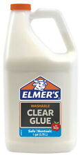 Elmer's Washable Clear School Glue Refill Gallon