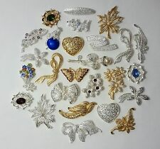 Napier - Brooches - Lot of 5 _ MSRP $125 _ silver gold jewelry pin lot