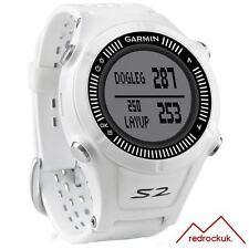 Garmin Approach S2 GPS Golf Watch with 38,000 Worldwide Courses - White & Grey