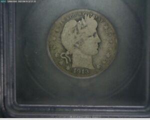 1913 S Barber Quarter Good-6