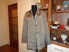 MARC CAIN COLLECTION TAUPE NYLON LIGHTWEIGHT RELAXED BOXY JACKET-L,14-UK