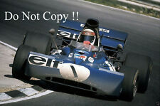 Jackie Stewart Tyrell 003 British Grand Prix 1972 Photograph