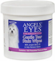 Angels' Eyes Gentle Tear Presoaked Textured Stain Wipes 100 pk for Dogs and cats
