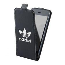 Genuine adidas Black White Drop Down Flip Case for Apple iPhone 5 5s