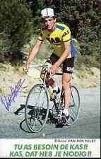 Etienne Van der Helst Team KAS 79 Signed Autograph cycling dédicace cyclisme