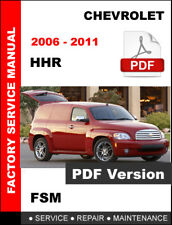 CHEVROLET HHR 2006 2007 2008 2009 2010 2011 OEM WORKSHOP REPAIR FACTORY MANUAL