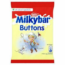 Nestle Milkybar Buttons - 30g - Pack of 12 (30g x 12 Bags) (1.06 oz  x  12)