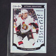 CHRIS WIDEMAN  RC  2015-16 O-Pee-Chee Update #U31  Ottawa Senators  Rookie