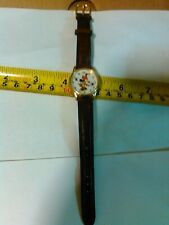 Vintage Walt Disney Production Minnie Mouse Character Watch New Battery