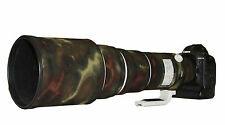 Canon 500 F4 IS MK1 Premium Neoprene Lens Camo Protection Cover Moss camouflage