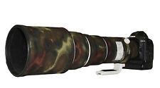 Canon 500 F4 Neopreno Lente Protección Camuflaje IS MK1 Cubierta: Premium Moss Camo