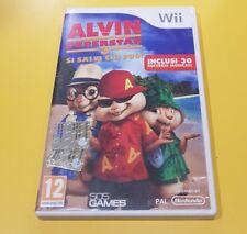 Alvin Superstar 3 Si Salvi Chi Puo' GIOCO WII VERSIONE ITALIANA