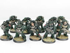 DARK ANGELS TACTICAL SQUAD  -  Painted Warhammer 40K Space Marine Army a