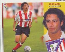 N°04 ULTIMOS FICHAJES JOSE MARI # ESPANA ATLETICO MADRID LIGA 2003 ESTE STICKER