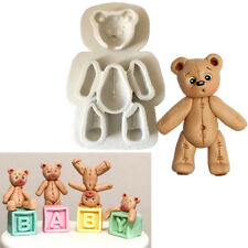 Bear Silicone Fondant Cake Decor Mould Chocolate Baking Sugarcraft Mold Tool DIY