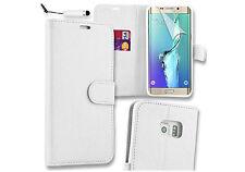 Samsung Galaxy S7 borde Abatible Billetera Estuche Cubierta Con Protector Gratis Y Stylus