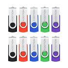 10 Pack USB 2.0 Flash Drives 1GB/2GB/4GB/8GB/16GB Memory Sticks Enough Storage